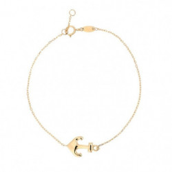 Bracelet Ancre Or Jaune 375/1000