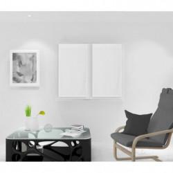 SOLEIL D'OCRE Paire de Brise bise Noémie - 45 x 90 cm - Blan