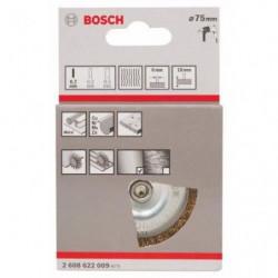BOSCH Brosse circulaire a fils laitonnés - Ø 75mm