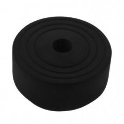 ALPERTEC Butée de porte Sphere - En caoutchouc noir