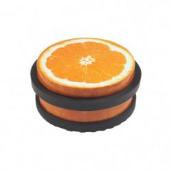 METAFRANC butoir de porte - Acier couleur décor orange - 102