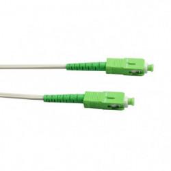 LINEAIRE FB122L Câble fibre optique SC-APC / SC-APC pour Ora