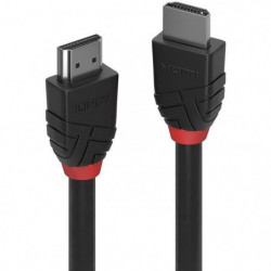 LINDY Câble HDMI High Speed - Black Line - 0.5m