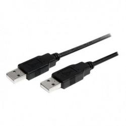Câble USB 2.0 A vers A de 2 m - M/M - Cordon USB A - M/M - U