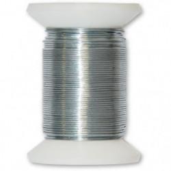 Fil métallique acier galvanisé - L 20 m x Ø 0,5 mm