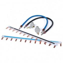 DEBFLEX Kit de câblage 1 rangée pour tableau électrique