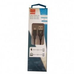 M500 Câble de charge et data avec adaptateur Micro-USB 2,4 A