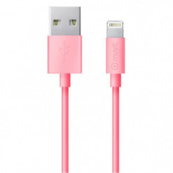 MUVIT LIFE Câble Lightning MFI Rose 2M