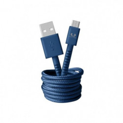 FRESH?N REBEL Câble Micro-USB Fabriq 1,5 m Indigo