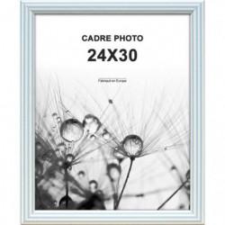 Cadre photo Kids 24x30 cm Bleu raie