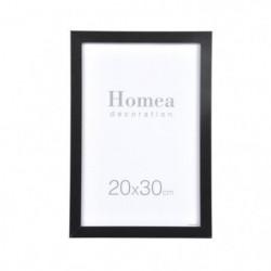 HOMEA Cadre photo Loft 20x30 cm noir