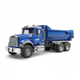 BRUDER 2823 Camion benne MACK Granite Halfpipe