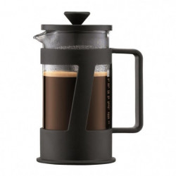 BODUM CREMA Cafetiere piston 3 tasses/0,35L noir