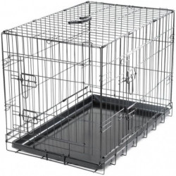 VADIGRAN Cage métallique pliable Classic - 76 x 48 x 55 cm -