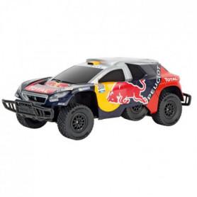 CARRERA Voiture télécommandée Peugeot Red Bull Dakar Echelle