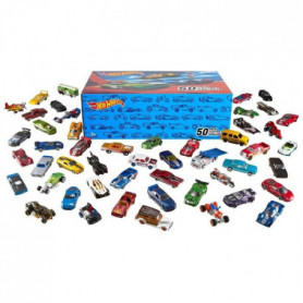 HOT WHEELS - Coffret de 50 Voitures