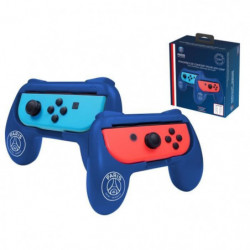 Duo de Grips bleus Paris Saint Germain pour manette Switch