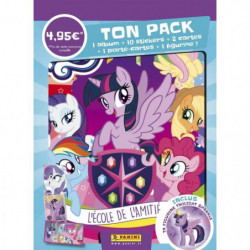 MY LITTLE PONY - saison 8 Pack de démarrage(Album + 2 pochet