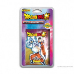 DRAGON BALL SUPER TC - Stickers Blister 4 pochettes