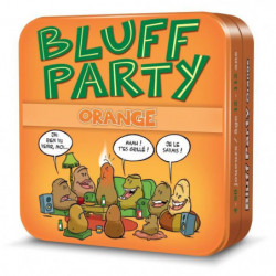 ASMODEE - Bluff Party - Pack Orange - Jeu de société