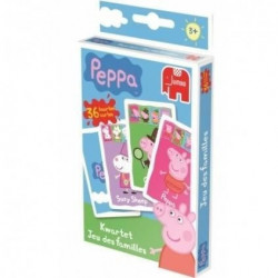 DISET Peppa Pig - Jeu de Cartes 7 Familles