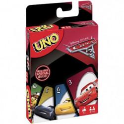 UNO - Cars 3 - Jeu de Cartes