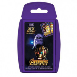 TOP TRUMPS Avengers Infinity War - Jeu de cartes - Version f