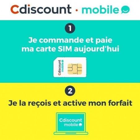 Carte Cdiscount Mobile.Carte Sim Cdiscount Mobile