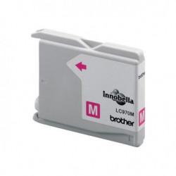 BROTHER Cartouche encre LC-970 - Magenta - Capacité standard