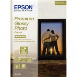 EPSON Pack de 1 Papier Photo Premium Brillant S042154 - 130x