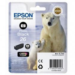 Epson T2611 Ours Polaire Cartouche d'encre Noir Photo