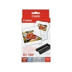 CANON KC-18IF Kit cartouche et papier photo - 18 impressions
