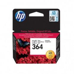 HP 364 Cartouche d'encre Noir Photo authentique (CB317EE)