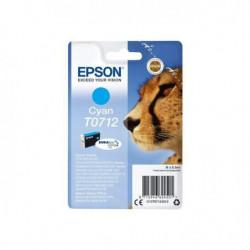 EPSON Cartouche T0712 - Guépard - Cyan