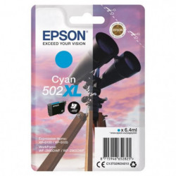 EPSON Cartouche Jumelles - Cyan XL 502