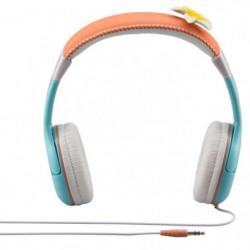 VAIANA casque audio enfant Kidsafe Premium - Arceau réglable
