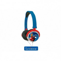 LEXIBOOK - MARVEL - Casque Audio Stéréo, Puissance sonore Li