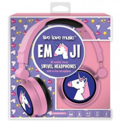 DGL TOYS casque audio enfant audio Emoticon Licorne