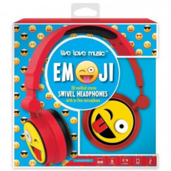 DGL TOYS casque audio enfant audio Emoticon Clin d'oeil