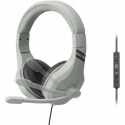 Casque-micro Subsonic gris pour PS4 , Xbox One , Switch et P
