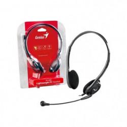 GENIUS Micro-Casque HS-200C - Filaire - Stereo - Gris