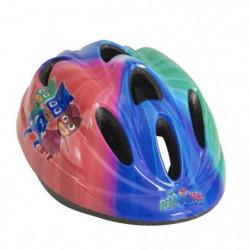 PJ MASKS Casque de vélo - Enfant - Rouge, bleu et vert