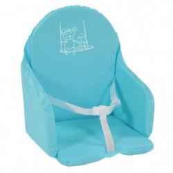Looping Coussin Chaise Haute Sangles Bleu Lagon
