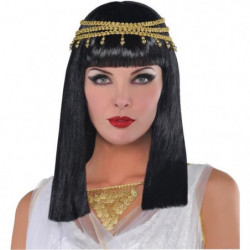 AMSCAN Perruque Reine Egyptienne
