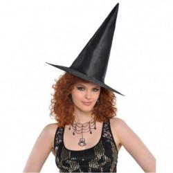 AMSCAN Chapeau de sorciere TU - Noir classique - Femme