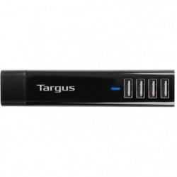 TARGUS Chargeurs téléphone portable & Tablette - 4 ports USB