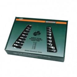 MANNESMANN Jeu de 12 clés mixtes en chrome vanadium M130-12