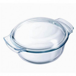 PYREX - 108A000/7043 - Cocotte ronde - 25cm * 20cm - Pyrex C
