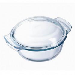 PYREX - 112A000/7043 - Cocotte ronde - 29cm * 23 cm - Pyrex