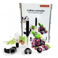 YOKO DESIGN Coffret Sommelier 5 Pieces d'oenologie